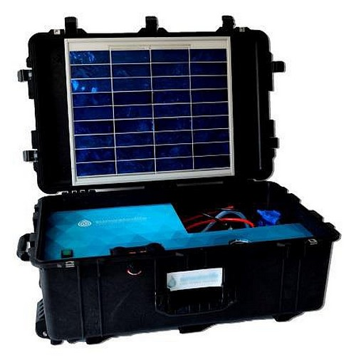 syst me de traitement d eau portable solaire ref swl01 ricochet international. Black Bedroom Furniture Sets. Home Design Ideas