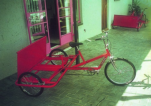 tricycle pour l enl vement de d chets ref jns06 ricochet international. Black Bedroom Furniture Sets. Home Design Ideas